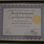Zend Certified Engineer (PHP 4)